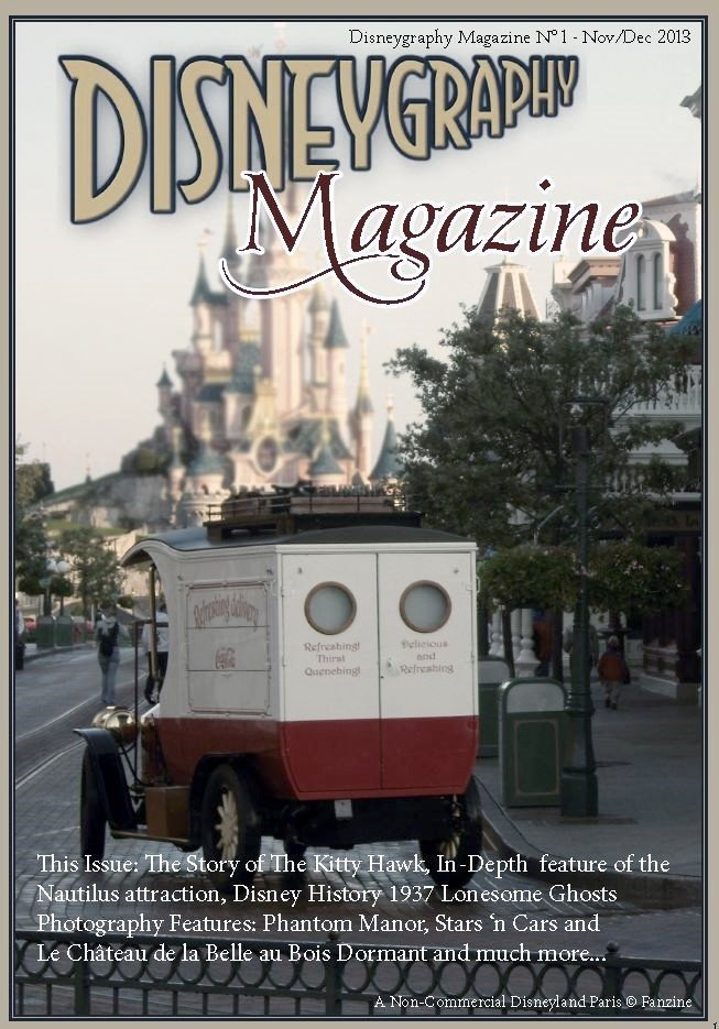 magazine, Disneyland Resort Paris