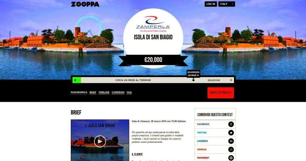 contest logo Zamperla venezia