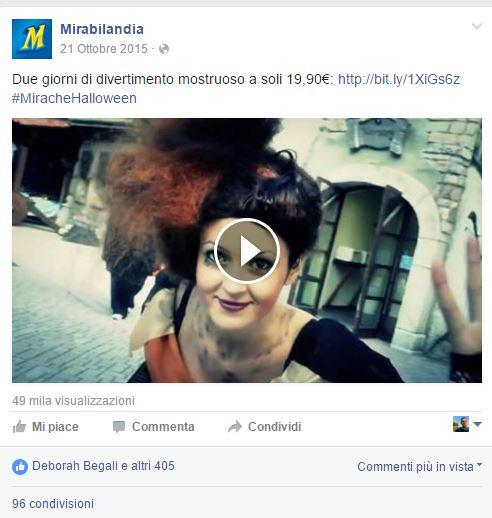 Mirabilandia viral marketing WOM