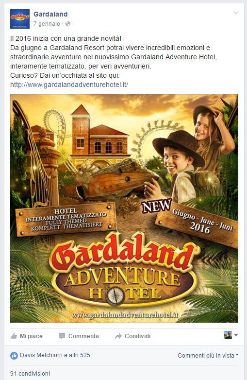 gardaland buzz marketing WOM passaparola