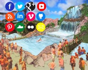 Social network: ad Aqualandia lo scivolo acquatico crea automaticamente video da condividere