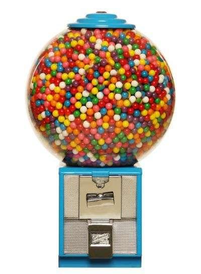 distributori automatici meccanici palline gadget