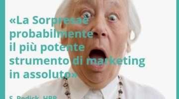 La sorpresa, strumento di marketing low budget