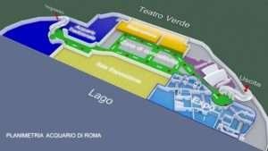 mappa acquario di roma