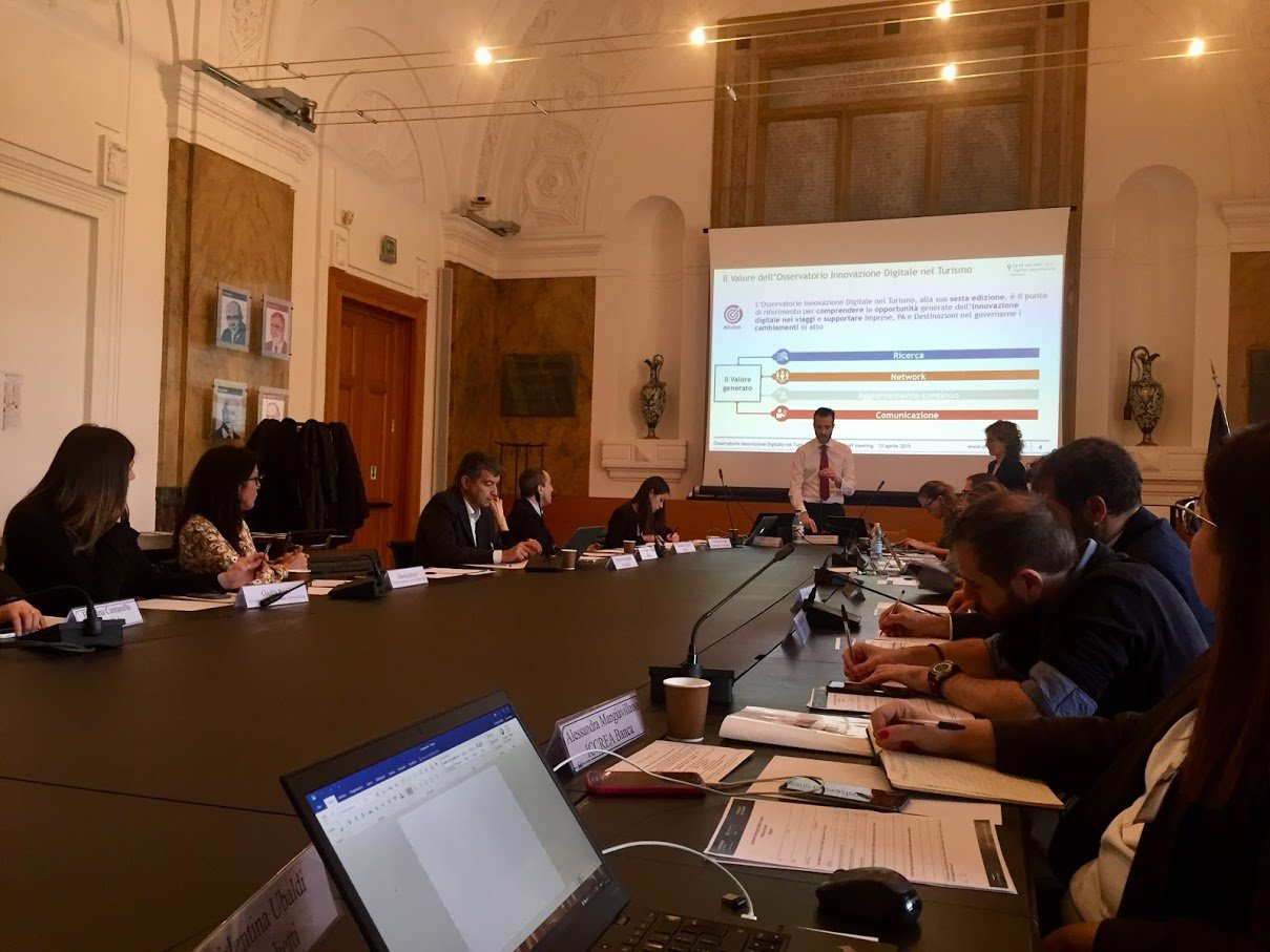 rapporto 2019 dati osservatorio innovazione digitale turismo