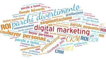 digital marketing e parchi divertimento